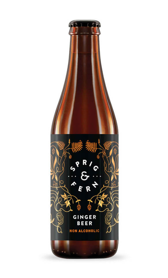Non Alcoholic Ginger Beer 330ml.