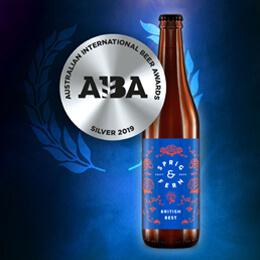 British best grabs silver award.