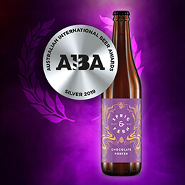 chocolate porter silver AIBA Awards.
