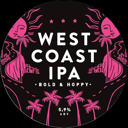 West Coast IPA tasting note