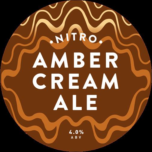 Nitro Amber cream Ale limited release.