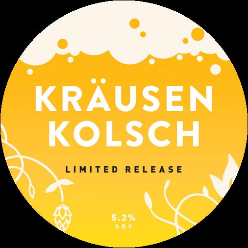 Krausen Kolsch Limited Release.