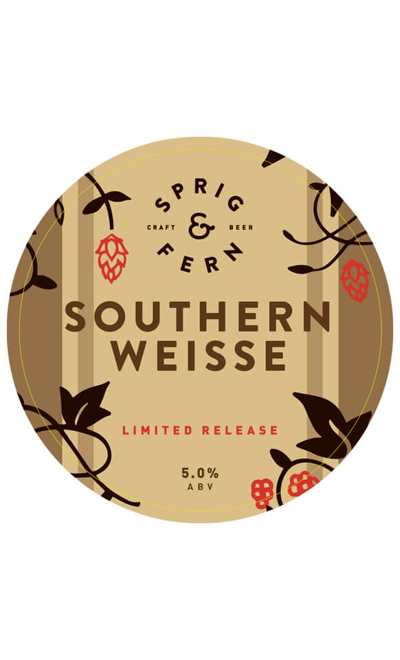 Southern Weisse 330ml craft beer.